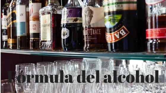 Fórmula del alcohol